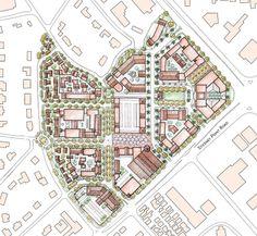 City Skylines Game, Urban Design Plan, Terraria, Master Plan, Urban Planning, Building Design, Mtg, The Neighbourhood, Arch