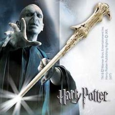 Harry Potter Voldemort's Illuminating Wand by The Noble Collection. $48.78. A recreation of the famous wand. Wave the wand and the light goes on! Wave it again, and it turns off! Wand measures 14 inches in length.  Wand is made of high grade plastic with metal housing inside for the batteries. For ages 10 and up.
