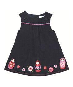 Take a look at this Navy Russian Doll Jumper - Infant, Toddler & Girls by JoJo Maman Bébé on #zulily today!