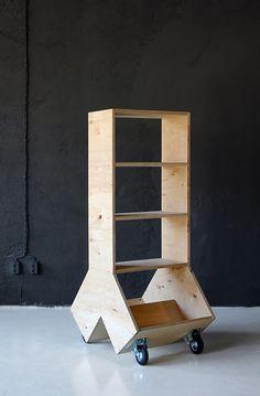 Plywood shelf - by Aid Bureau