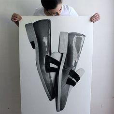 Drawings by CJ Hendry