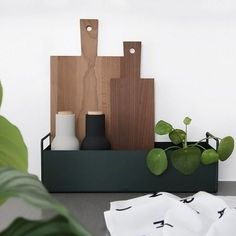 Love this beautiful shot by @lauvhaug Ferm Living small plant box is not only great for house plants, but also double as storage for your kitchen essentials, available in our online store . #kitchen #kitchendesign #kitchenessentials #nordichome #nordicinspiration