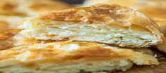 recipe to prepare Breakfast Cheese Pie Cheese Pies, Spanakopita, Greek Recipes, Sandwiches, Bread, Cooking, Breakfast, Ethnic Recipes, Food
