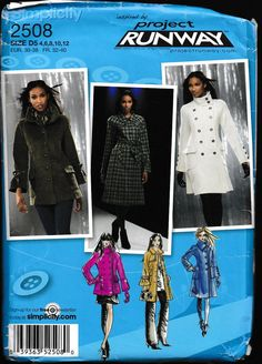 Simplicity 2508 Misses' Misses-Petite Coat or by OutoftheConex