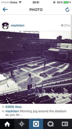 One direction concert aug.19,2014... Early in the morning... Nashville