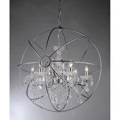 Warehouse of Tiffany Saturn's Ring 16-inch Chandelier RL6806B-16CH
