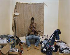 Deana Lawson, <em>Living Room, Brownsville, Brooklyn, </em> 2015. Courtesy Sikkema Jenkins & Co.