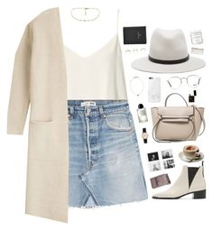 """""""'98"""" by bomlion ❤ liked on Polyvore featuring Raey, RE/DONE, rag & bone, By Malene Birger, Acne Studios, American Apparel, Joomi Lim, Ray-Ban, FOSSIL and Herbivore"""