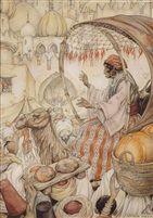 Anton Pieck Jean Leon, Camelus, Empire Ottoman, Anton Pieck, Franz Marc, Creta, Dutch Painters, Dutch Artists, Arabian Nights