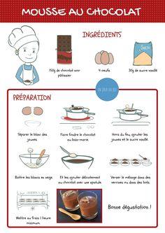 Recette pour enfants : mousse au chocolat #unjourunjeu