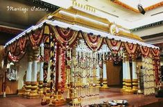 Trousseau Packing, Marriage Decoration, Wedding Plates, Wedding Decorations, Wedding Ideas, Indian Weddings, Stage, Fair Grounds, Gardens