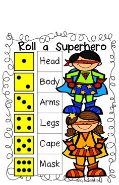Image result for roll a superhero