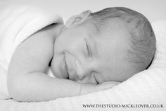 Newborn smiles http://www.thestudio-mickleover.co.uk