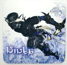 Final Fantasy XIV Job Ninja DPS Coaster Eorzea Cafe Square Enix Game F/S