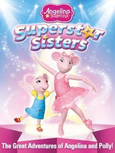 Angelina Ballerina: Superstar Sisters DVD Giveaway (Last Day to Enter) Angelina Ballerina, Ballerina Party, Princess Polly, Princess Peach, Kipper The Dog, Strawberry Shortcake Characters, Wiggles Birthday, 3rd Birthday, Fairy Princesses