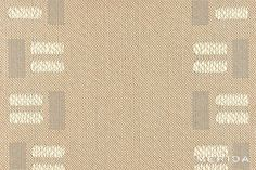Reorganizes the pattern repeat's stylistic lines to create a stunning border for stairs Beige Area Rugs, Wool Felt, Stairs, Projects, Blog, Pattern, Create, Log Projects, Stairway