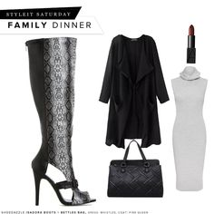 Covered and cute for family time. #ShoeDazzle