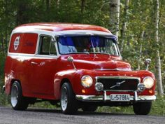 Volvo sedan delivery Old Vintage Cars, Vintage Trucks, Old Trucks, Volvo Amazon, Station Wagon, Classic Trucks, Classic Cars, Panel Truck, Volvo Cars