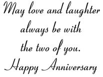 Catalog Marriage and Anniversary Verses Rubber Stamps Card
