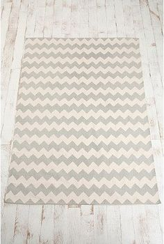 Urban Outfitters: Zigzag Printed Rug - $39.00»