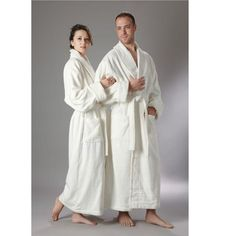 b2b90931ea Arus Organic Cotton Full Length Turkish Bathrobe Bath Robes and Slippers