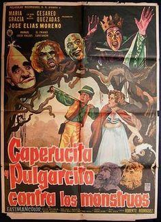 Caperucita y Pulgarcito contra los monstruos.