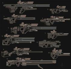 Elliot Lily quick gun sketches Jan2018