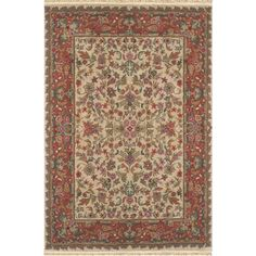 Found it at Wayfair - American Home Classic Tabriz Antique Ivory/Rose Area Rug