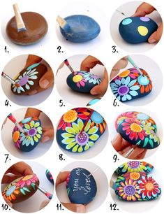 The 70s are officially back and rock painting is at an all time high! Its time t...-#70s #High #officially #painting #rock #Time