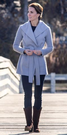Click through to shop wrap-around outerwear spotted on Kate Middleton, Lupita Nyong'o and more style stars.