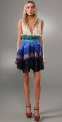 Chris Benz Shangri La Dress
