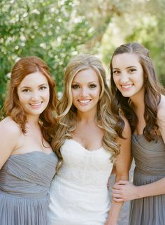 Curly Bridesmaids Hair