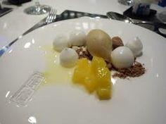 COCONUT - palm sugar, young coconut, chocolate at Bo Innovation Restaurant, Wan Chai, Hong Kong, China