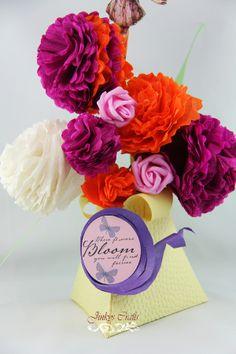 Jinkys Crafts & Designs: Carnation Crepe Paper Flower Tutorial