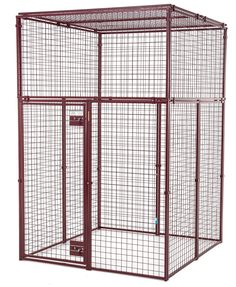 Standard Duty Flat Covered Animal Pen/Cage