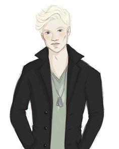 Draco Malfoy by SPARKLIFE