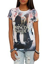 HOTTOPIC.COM - The Princess Bride Collage Sublimation Girls T-Shirt
