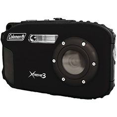 Coleman C9WPBK Xtreme3 20 MP Waterproof Digital Camera with Full 1080p HD Video Black *** BEST VALUE BUY on Amazon