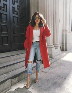 There's something about the color red that brings out the boss lady in me. Happy Valentine's Day loves! #red #denimstyle #vday #ShopStyle #ssCollective #MyShopStyle #fallfashion #summerstyle #mylook #ShopStyleFestival #lookoftheday #currentlywearing #todaysdetails #getthelook #wearitloveit #shopthelook #ootd