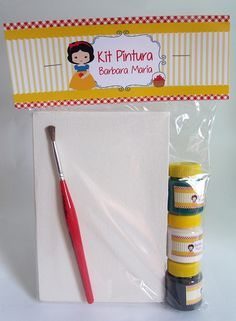 Kit Pintura - Branca de Neve