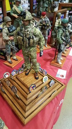 Spinning 360 degree challenge coin holder and action figure plus SH Coin Holder Military, Military Box, Military Shadow Box, Military Retirement, Military Gifts, Challenge Coin Holder, Challenge Coin Display, Military Challenge Coins, Military Memorabilia