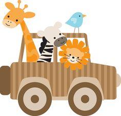 4shared - SO MANY CUTE CLIP ART FILES Jungle Theme Birthday, Jungle Party, Safari Party, Safari Theme, Safari Png, Safari Jeep, Jungle Safari, Jungle Animals, Baby Animals