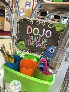 Going Strong in Grade: 21 Days in.how we are using Class Dojo! IF I decide to use dojo. 5th Grade Classroom, Classroom Community, Kindergarten Classroom, School Classroom, Classroom Ideas, Future Classroom, Monster Classroom, Eyfs Classroom, Classroom Rewards