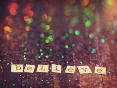 Believe that you are good enough