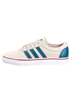 adidas Originals ADI-EASE - Matalavartiset tennarit - dust sand/surf petrol/power red - Zalando.fi
