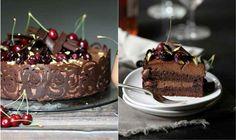 Bogata torta sa čokoladom i višnjama