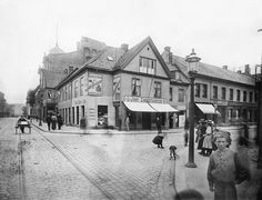 Centralbanken for Norge Oslo, Old Pictures, Norway, Louvre, Street View, History, City, Building, Travel