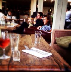 with Jeff at Shoreditch House, London, May 22, 2015