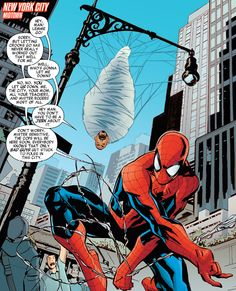 "Spidey in Avengers: No More Bullying #1 - ""Friends on the Web"" (2015) - Marcio Takara & Lee Loughridge"
