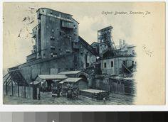 Oxford breaker, Scranton, Pennsylvania, circa 1907-1910. From the National Trust Library Historic Postcard Collection.